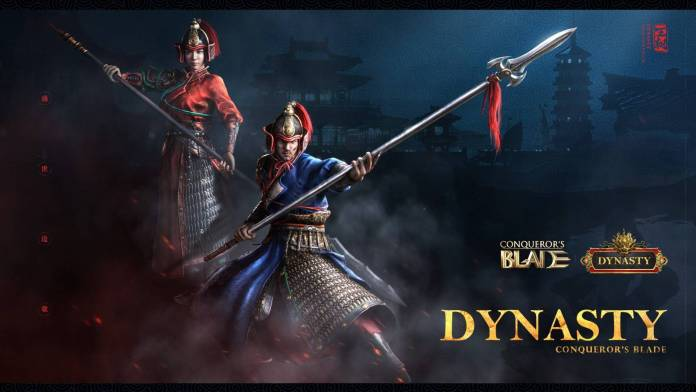 """Conqueror´s Blade presenta su nueva temporada """"Dynasty"""" que tomara lugar en la antigua China."""