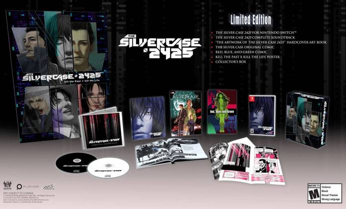 Llega 'The Silver Case 2425' a la Nintendo Switch 1