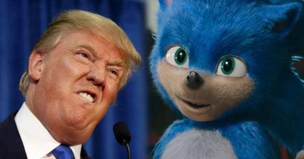 Sonic The Hedgehog, Shadow the Hedgehog, Donald Trump, GETTR, WTF, WTF Politica, Twitter,