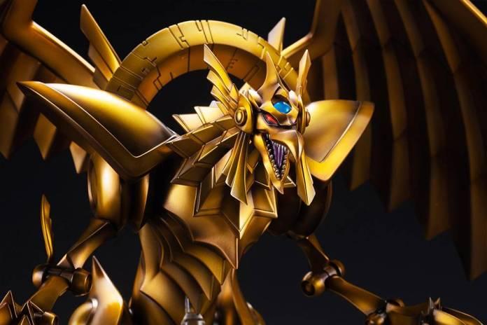 Yu-Gi-Oh!: Kotobukiya presenta increíbles figuras de los Dioses Egipcios 8