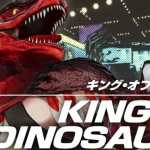 king of dinosaurs, the king of fighters XV
