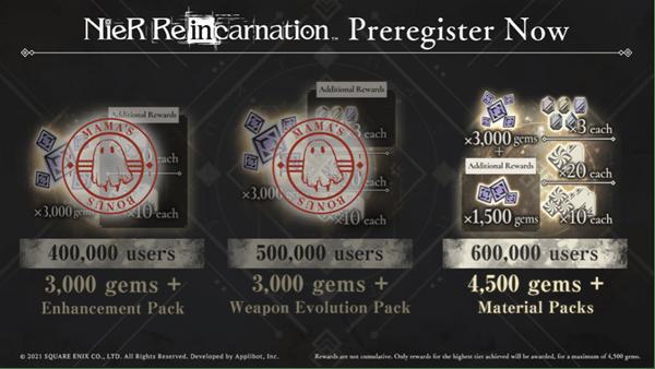NieR Re[in]carnation se lanzará el 28 de julio con un crossover especial 1