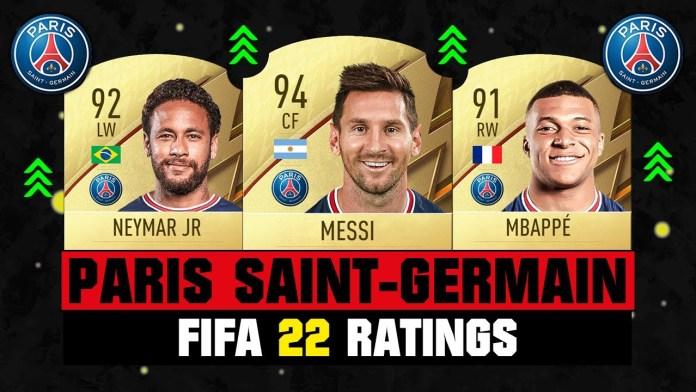 Conoce los Rating de los mejores jugadores de FIFA 22