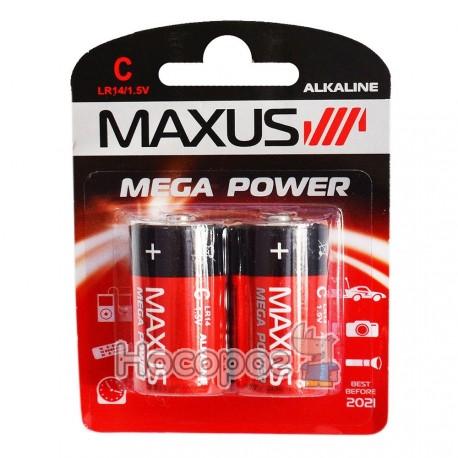 Батарейки MAXUS LR14/1.5V С-С2 средняя — Купить Дешево с ...