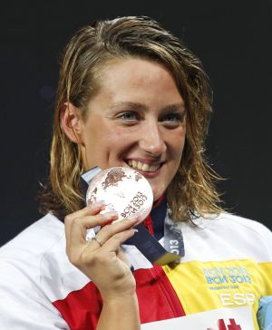 Natación: bronce mundialista para Mireia Belmonte en 200 estilos