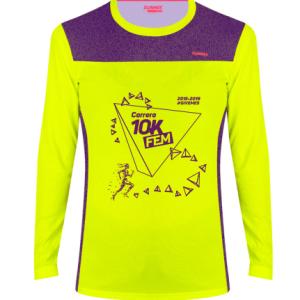 Camiseta GiveMe5 – Conmemorativa V aniversario Carrera 10KFem