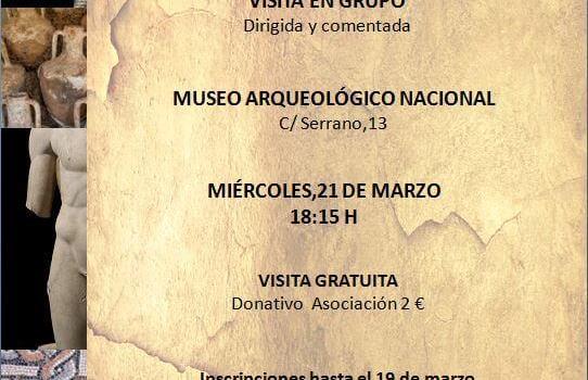 Visita al Museo Arqueológico Nacional