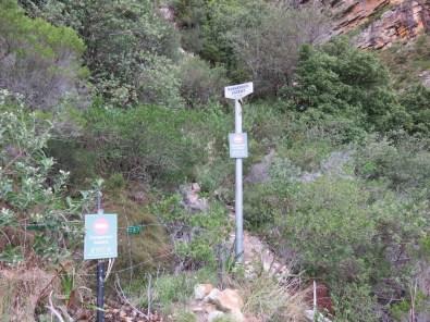 Dangerous Ascent Sign