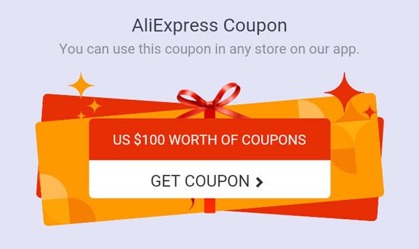 Kupony zniżkowe AliExpress 100$ - nospoon.pl