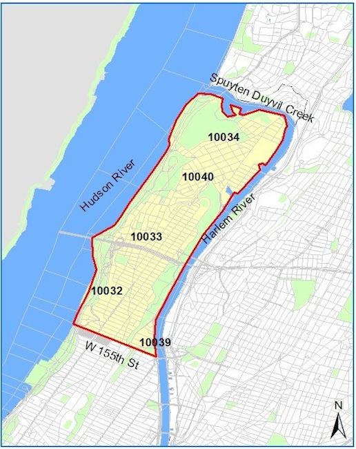 Map West Nile Zika Pesticide Spraying August 2016 NYC