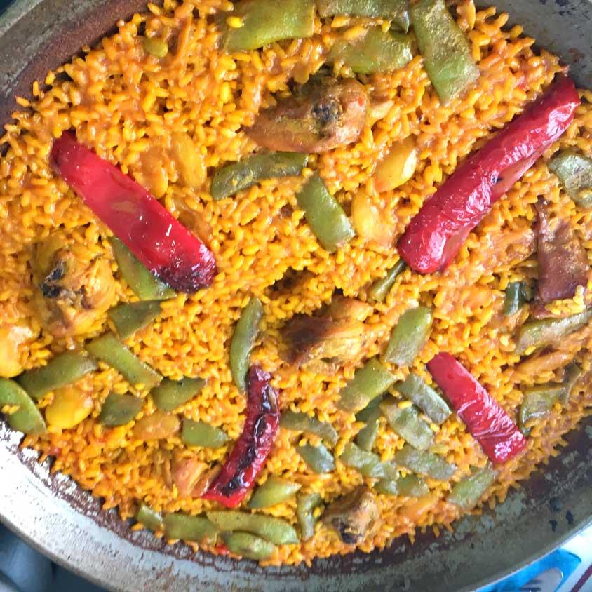 onde comer paella em Madri