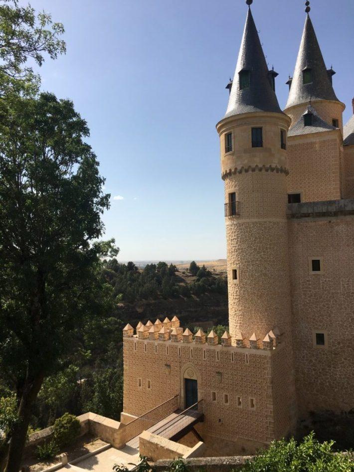 Alcazar Segovia Espanha