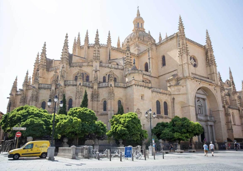 Segovia passeio perto de Madri