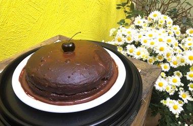 bolo de biomassa chocolate aveia receita