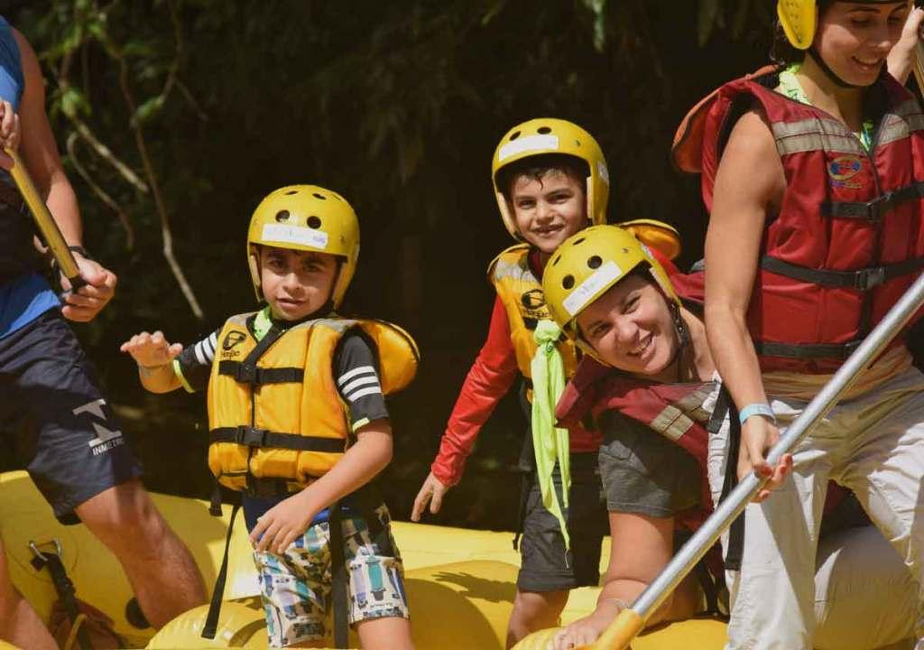 rafting em brotas viagens com crianças viagens com filho o que fazer perto de são paulo