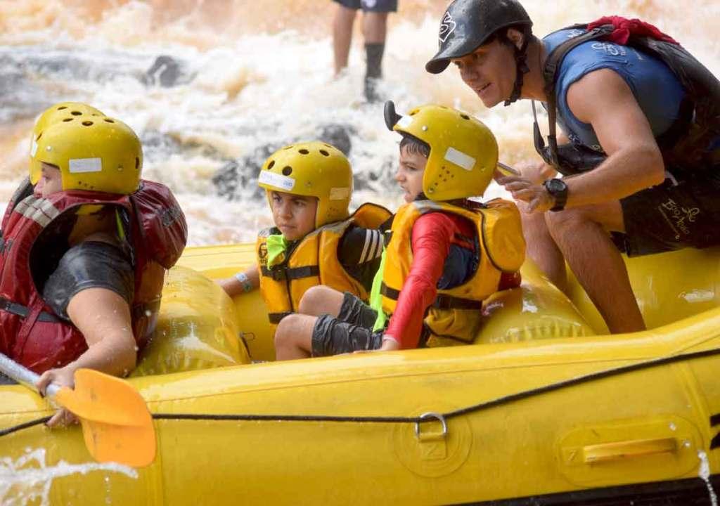 viagens com filhos rafting em brotas viagem perto de são paulo