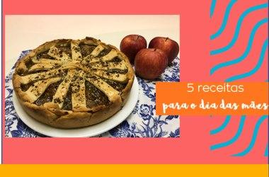 receitas comida de verdade receita caseira torta de maçã bolo de biomassa peixe assado risoto