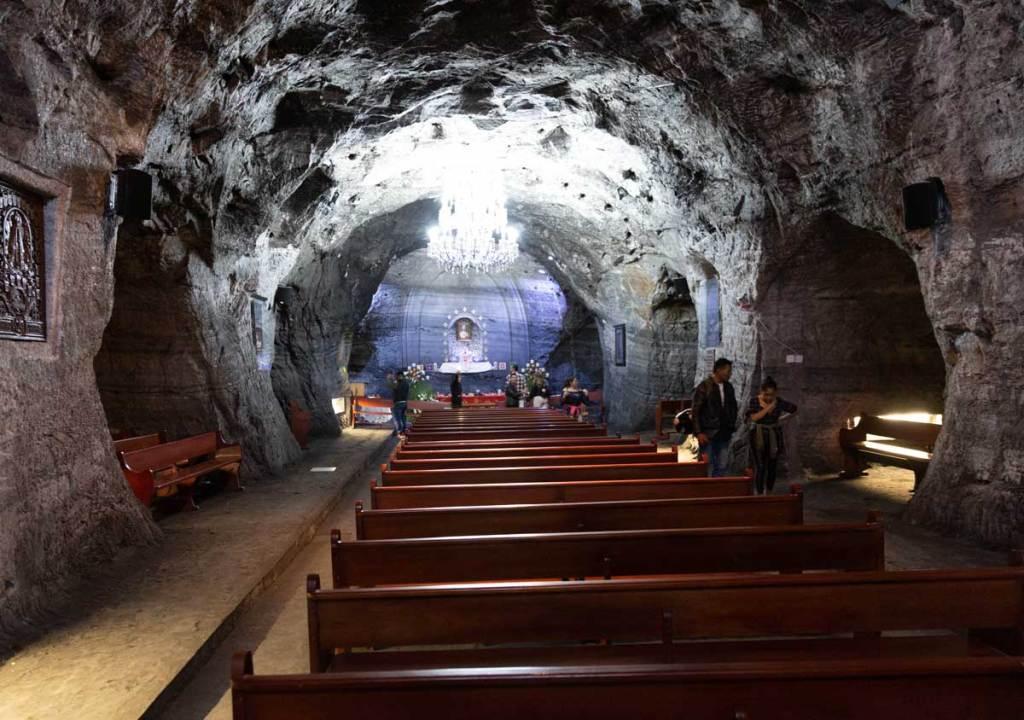 catedral de sal Zipaquirá  o que fazer em Bogotá