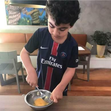 como variar a alimentação do seu filho