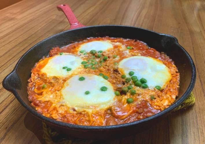 huevos a la flamenca receita espanhola