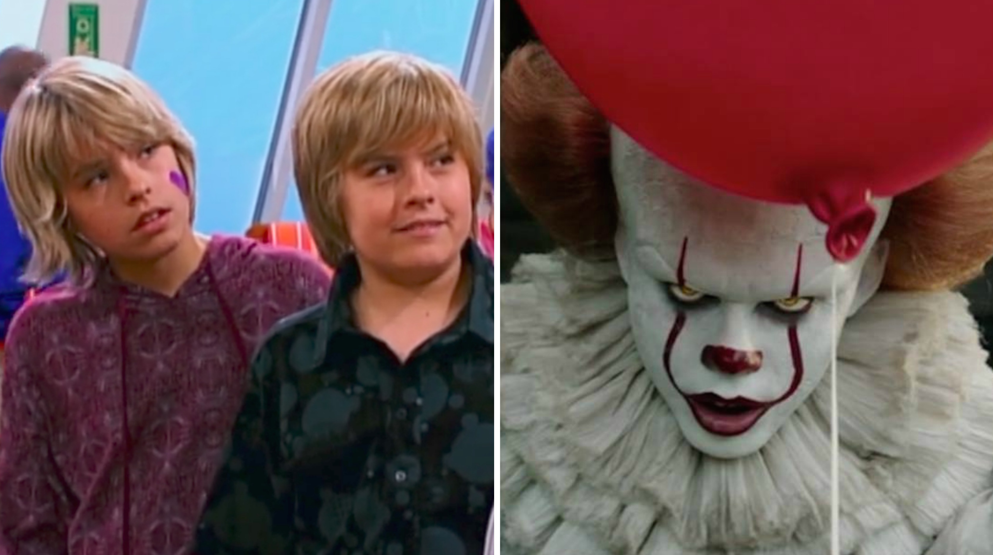 The Suite Life On Deck And The New It Movie Share A Connection
