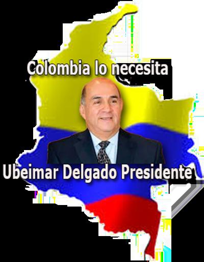 Ubeimar Delgado Presidente