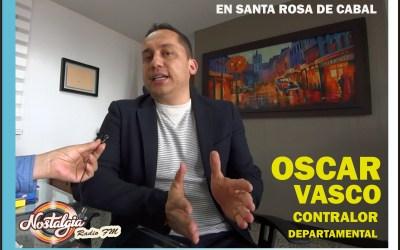 EN SANTA ROSA DE CABAL…EL CONTRALOR DEPARTAMENTAL CON LA LUPA PUESTA !