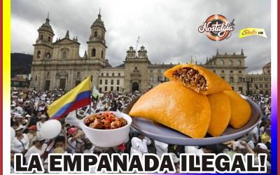 EN COLOMBIA…MULTARON A CLAROS POR COMER EMPANADA?