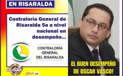 LA CONTRALORÍA DE RISARALDA…5ta EN BUEN DESEMPEÑO