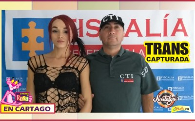 MUJER TRANS CAPTURADA POR PRESUNTO HOMICIDIO EN CARTAGO