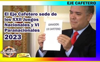 JUEGOS NACIONALES 2023…GANADOR EJE CAFETERO!