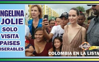 ANGELINA JOLIE Y SU VISITA A PAÍSES «MISERABLES»
