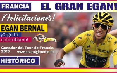 HISTÓRICO…EGAN EL NIÑO REY DEL TOUR DE FRANCIA 2019