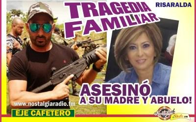 TRAGEDIA FAMILIAR EN SECTOR RESIDENCIAL DE PEREIRA