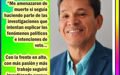 EN RISARALDA…AMENAZAN PROFESOR ENCUESTADOR ELECCIONES 2019