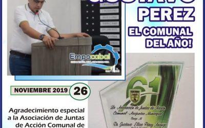 GERENTE DE EMPOCABAL…EL COMUNAL DEL AÑO!