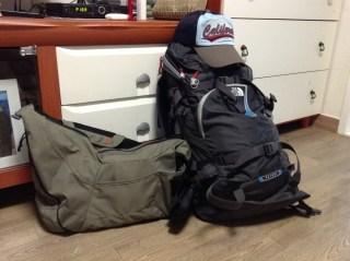 My travel luggage