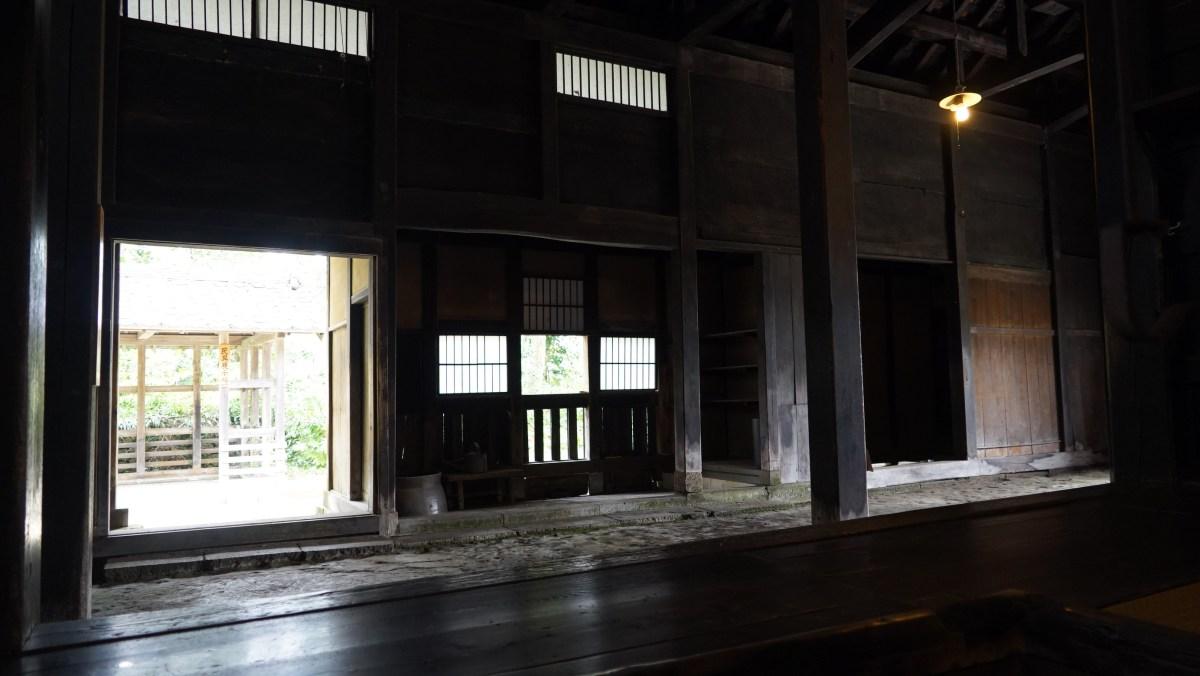 日本建築 土間
