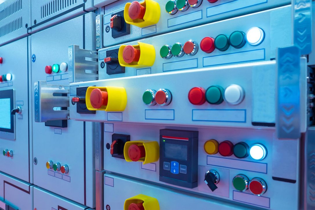 Electrical panel. Low voltage device. Electrical equipment. Power supply. Electro substation. Power net.jpg