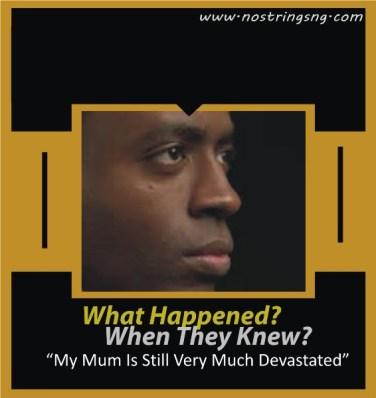 What Happened My Mum