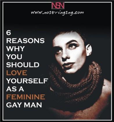 feminine man