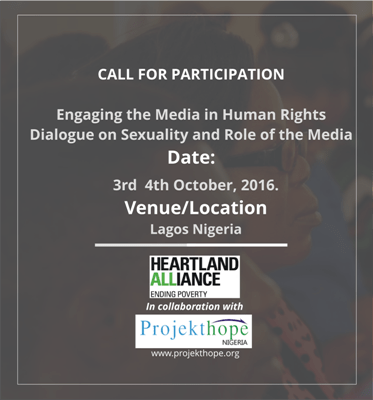dialogue on Sexuality and Role of the Media