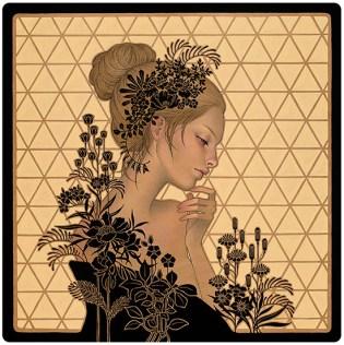 Audrey Kawasaki painting