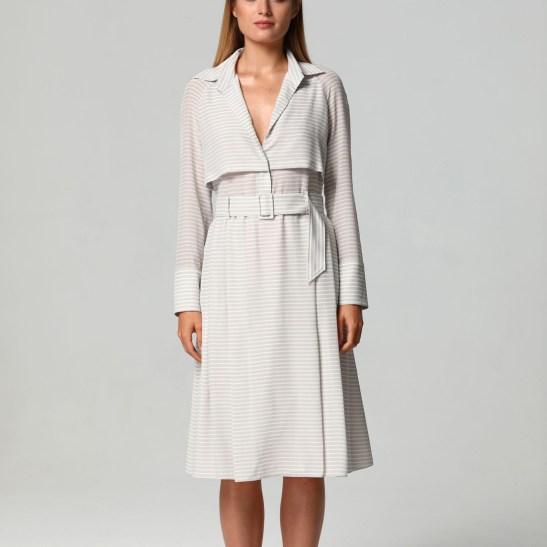 2Split Striped Dress