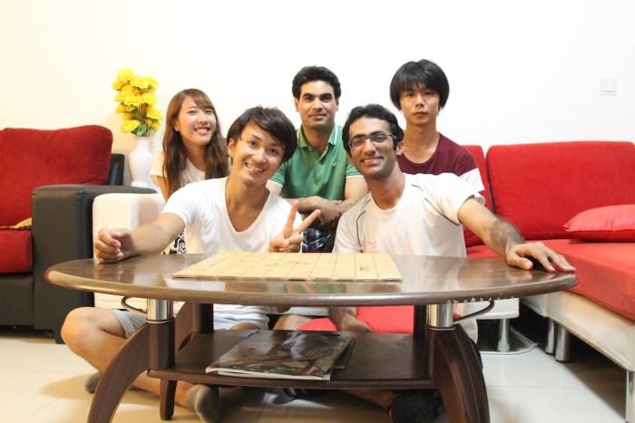 シンガポールで豪邸に泊まったとき。懐かしいです。