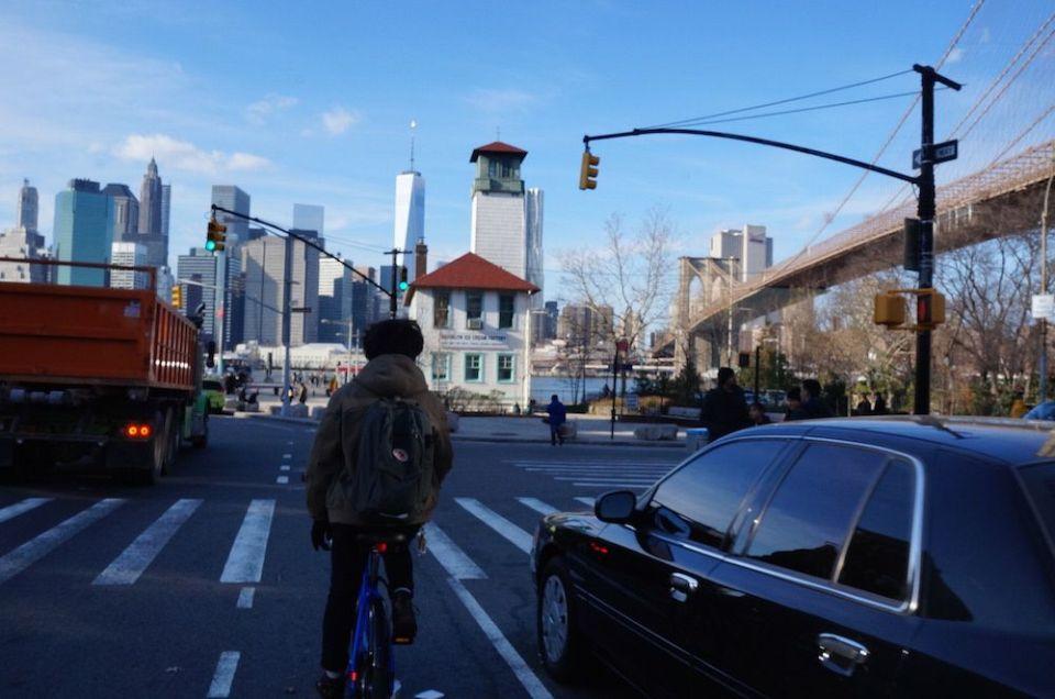 大好きなDumboにも自転車で行けた!