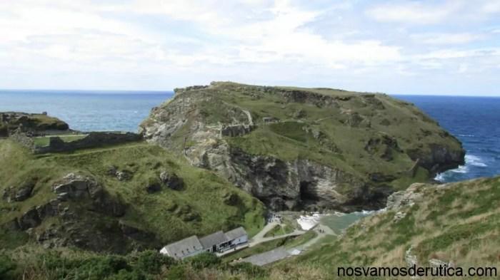 Panoramica del castillo Tintagel