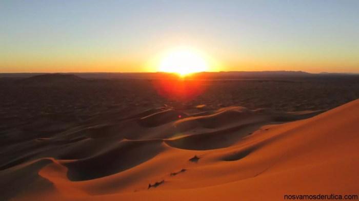 Atardecer de la gran duna