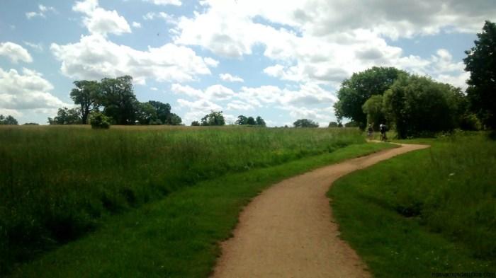 Camino cerca de Windsor
