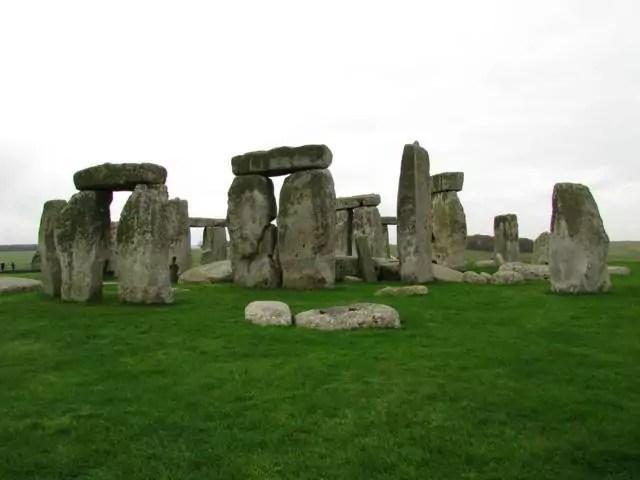 Stonehenge desde atras